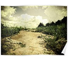 Way to the clouds. Poster
