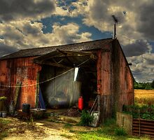 Rats Castle Farm Grain Barn by Nigel Bangert
