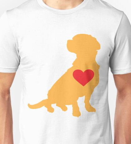Mixed Breed Silhouette Unisex T-Shirt