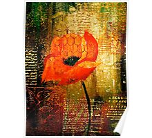 The Poppy Journals...Trapped Poster