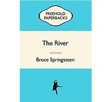 Retro Paperback Cover Art Springsteen Album Photographic Print