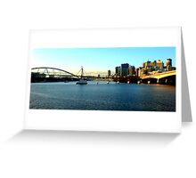 Brisbane River Greeting Card