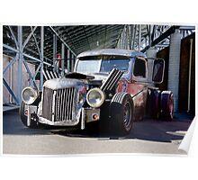1940 Ford 'Felony Conviction' Rat Pickup Poster