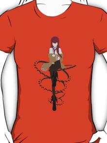 steins gate kurisu makise 004 anime manga shirt T-Shirt