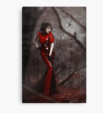 Red Widow Canvas Print