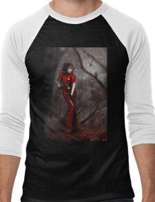Red Widow Men's Baseball ¾ T-Shirt