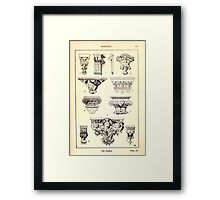 A Handbook Of Ornament With Three Hundred Plates Franz Sales Meyer 1896 0255 Supports Console Framed Print