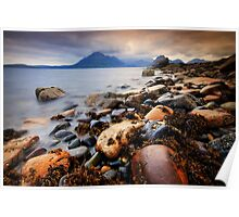 Elgol Evening light... Poster