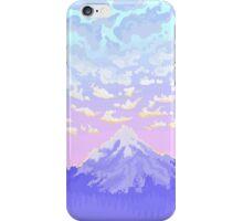 Sunset on Pastel Mountain iPhone Case/Skin