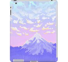 Sunset on Pastel Mountain iPad Case/Skin