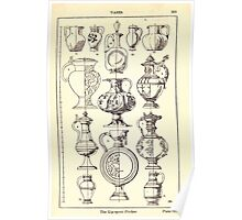 A Handbook Of Ornament With Three Hundred Plates Franz Sales Meyer 1896 0349 Vases Lip Spout Pitcher Poster