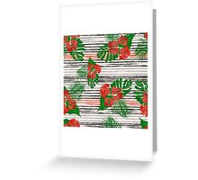 Floral Ditsy Pattern Greeting Card