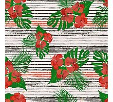 Floral Ditsy Pattern Photographic Print