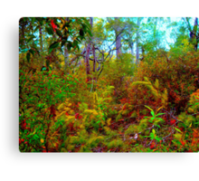 Edge of the Jungle Canvas Print