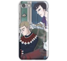 Late Lunch at 221B Baker Street iPhone Case/Skin