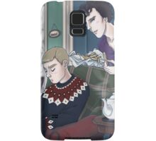 Late Lunch at 221B Baker Street Samsung Galaxy Case/Skin