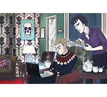 Late Lunch at 221B Baker Street Photographic Print