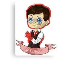 Chibi Medic RED Canvas Print