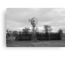 Windmill - South Africa Canvas Print