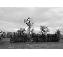 Windmill - South Africa Photographic Print