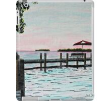 Garlic Island On Lake Winnebago iPad Case/Skin