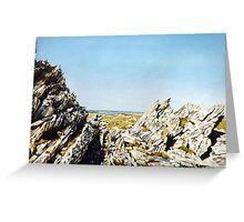 The Last Battlefield. Wireless Ridge, Falkland Islands Greeting Card
