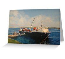 Falklands Morning Greeting Card
