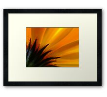 Flaming! Framed Print