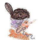 beaver hat by Soxy Fleming