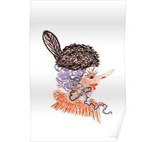 beaver hat Poster