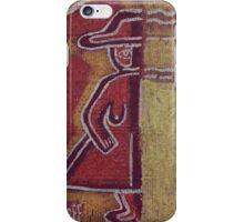 Half a Figure iPhone Case/Skin