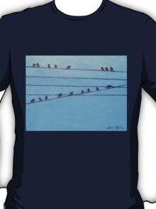 Birds, Wires 11 T-Shirt