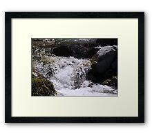 Babbling Brook Framed Print