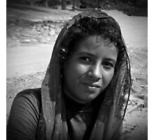 young bedouin Photographic Print
