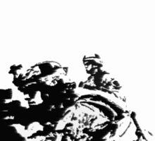 3 Soldiers Sticker