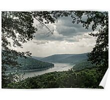 Allegheny Mountains in Pennsylvania Poster