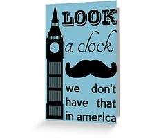 A Clock Greeting Card