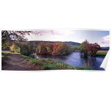 River Tay in Autumn Poster