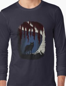 The wolf and the weirwood Long Sleeve T-Shirt