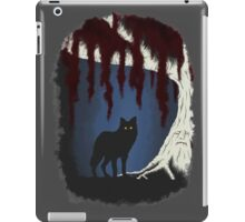 The wolf and the weirwood iPad Case/Skin