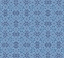 Soft Blue Tracery by Lena127