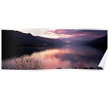 Loch Earn Sunset Poster