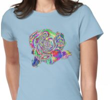 Zazzle Rose T SHIRT/BABY GROW Womens Fitted T-Shirt