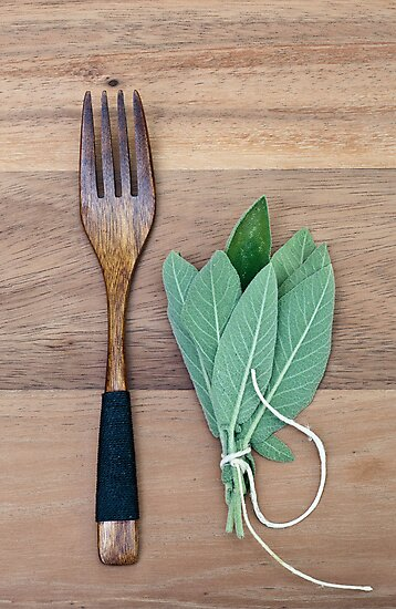 Fork and Sage by Ilva Beretta