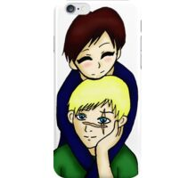 Sebastian Moran&Jim Moriarty- Mormor/Kid!Lock iPhone Case/Skin
