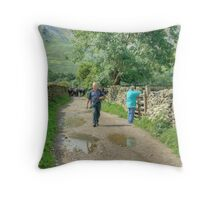 Our Day Out 10  (..The Parting Shot) Throw Pillow