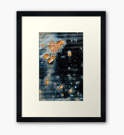 Through time and space... Framed Print
