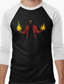 Hellfire Men's Baseball ¾ T-Shirt