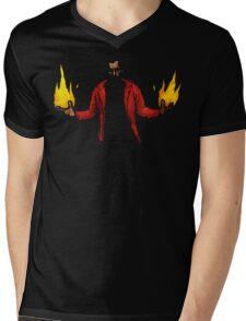 Hellfire Mens V-Neck T-Shirt
