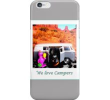 We love Campers iPhone Case/Skin